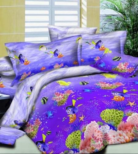 """Комплект постельного белья для детей """"Nemo"""" (сатин)"""