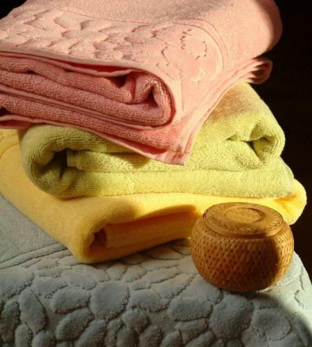 Махровые полотенца Ромашки (Buddemeyer, Бразилия)