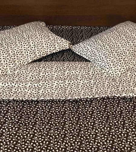 Комплект постельного белья BROWN/L.CREAM  (арт. 20-1368)