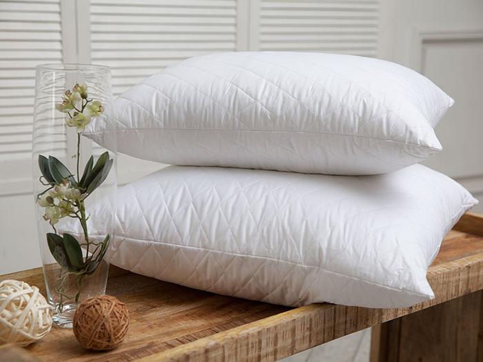 Наполнители и ткани для подушек