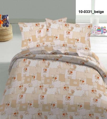 """Комплект постельного белья для детей """"Beige"""" (10-0331)"""