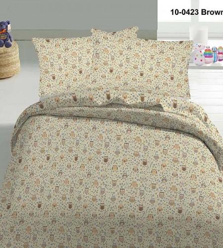 """Комплект постельного белья для детей """"Brown"""" (10-0423)"""