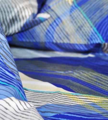 """Комплект постельного белья из бязи """"BLUE"""" (30-0332)"""