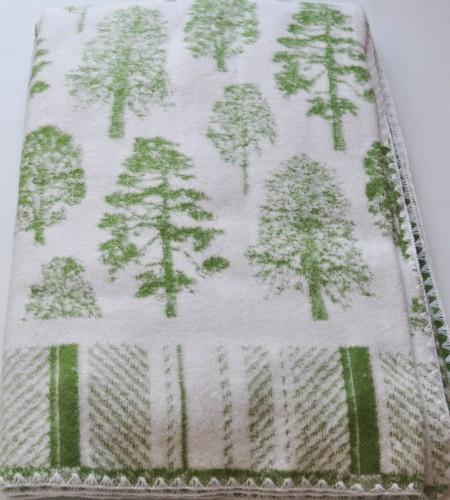 Одеяло хлопчатобумажное (арт.О.12.1, зеленый лес)