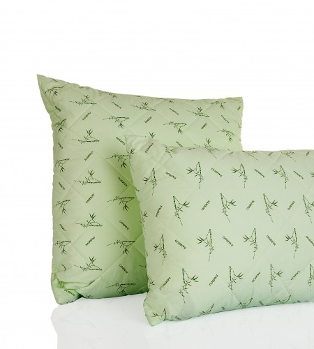 Подушка с наполнителем Бамбук, (арт. С.Б.)