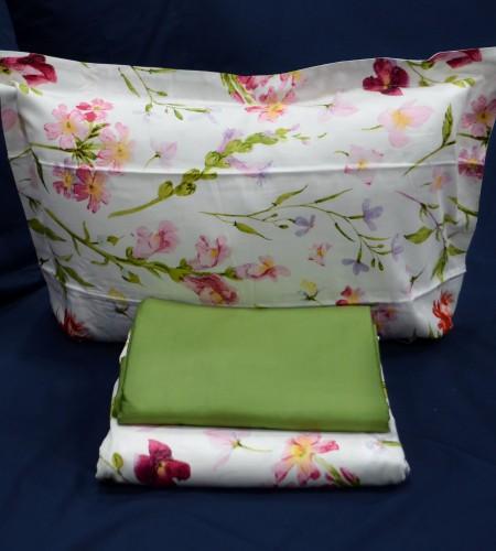 """Комплект постельного белья с простыней на резинке """"Pink"""" (20-1441)"""