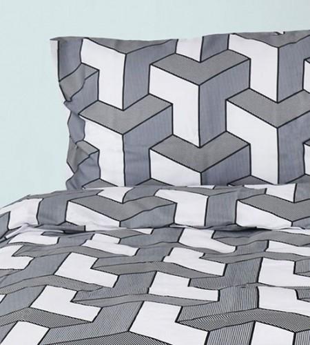 """Комплект постельного белья из сатина """"Grey"""" (30-0504)"""