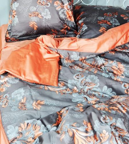 """Комплект постельного белья """"CACAO & CORAL"""" (20-1301, 00-0268)"""