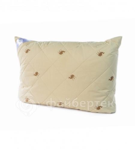 Подушка  с наполнителем Верблюжья шерсть 50х70 см (арт. 68*48.C.В)