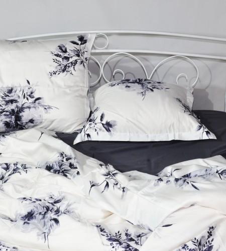 """Комплект постельного белья """"WHITE & IRON GREY"""" (20-1388,00-0240 )"""