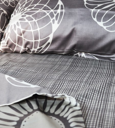 """Комплект постельного белья """"SILVER GREY/CACAO & CACAO"""" (40-0838/40-0838, 30-0485)"""