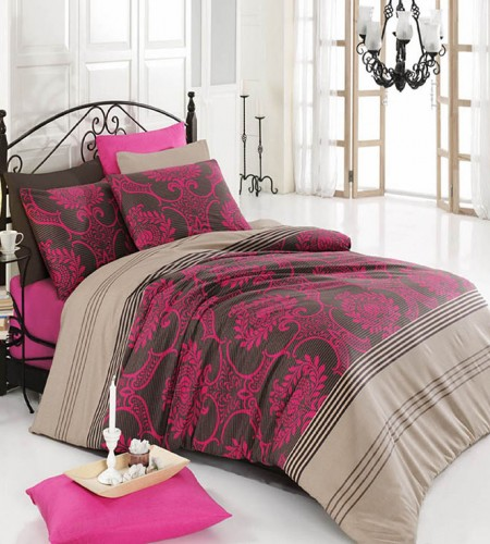 Комплект постельного белья  COTTON LIFE ELEGANCE, Турция (8027)