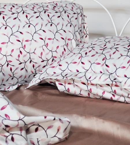 """Комплект постельного белья """"FUCHSIA & FRAPPE""""  (40-0881,00-0165)"""