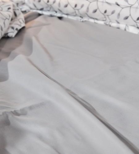"""Комплект постельного белья """"WHITE & OPAL GREY""""  (40-0881,00-0325)"""