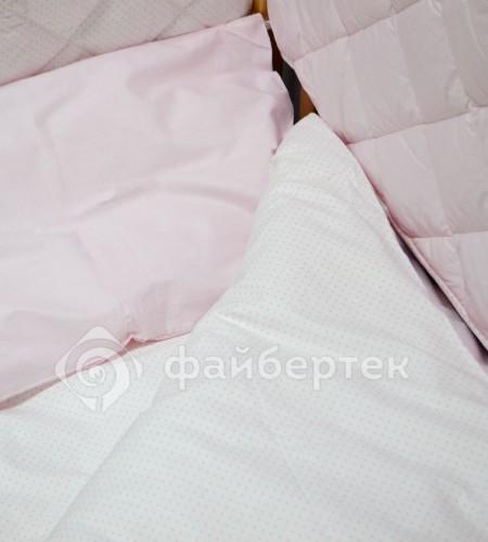 Комплект постельного белья для детей (розовый)
