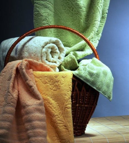 Махровые полотенца Cashmere new (Buddemeyer, Бразилия)