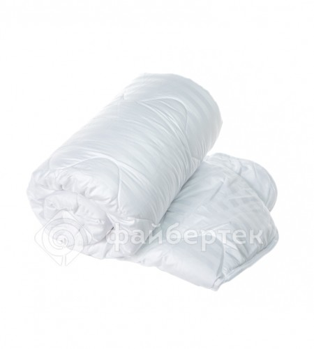 Одеяло с наполнителем Файбертек (сатин), полуторное. Размер 205×140, арт. Н.02.С