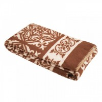 Одеяло хлопчатобумажное (Арт.О.12.1, коричневое)