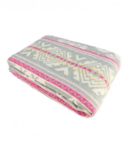 Одеяло хлопчатобумажное (арт.О.12.1, серое)