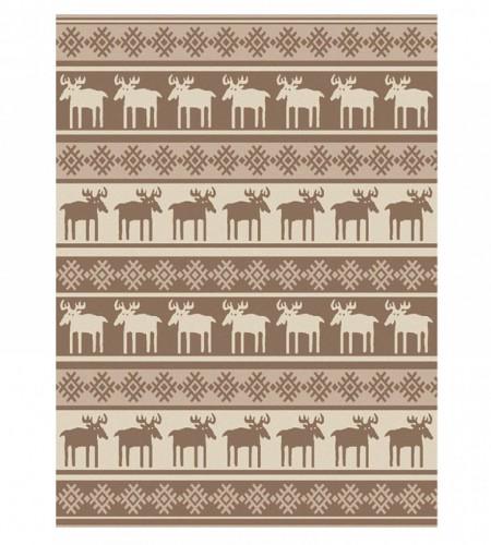 Одеяло шерстяное (Арт.О.Ш.01, олени)