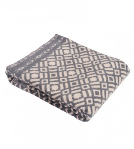 Одеяло шерстяное (Арт.О.Ш.01, серое)