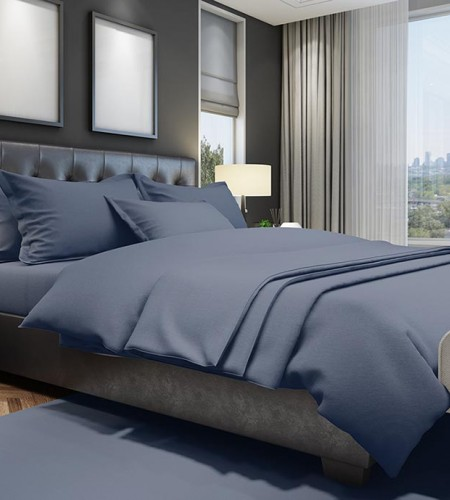 """Комплект постельного белья FiberLUX """"DARK BLUE"""""""