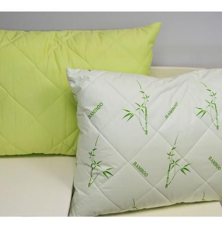 Подушка с наполнителем Бамбук в сатине 50х70 см (арт. 6848.СБ)