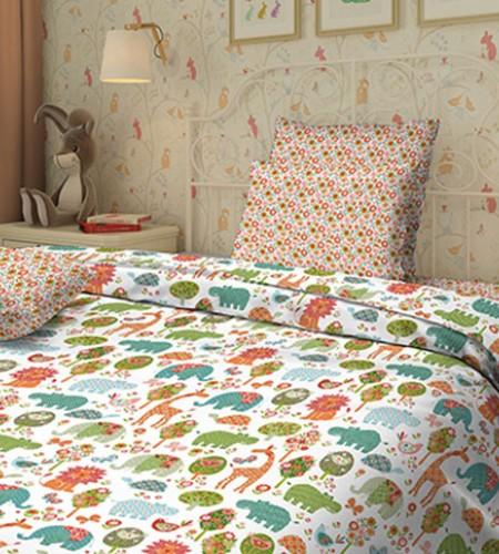 """Комплект постельного белья для детей """"Safary"""""""