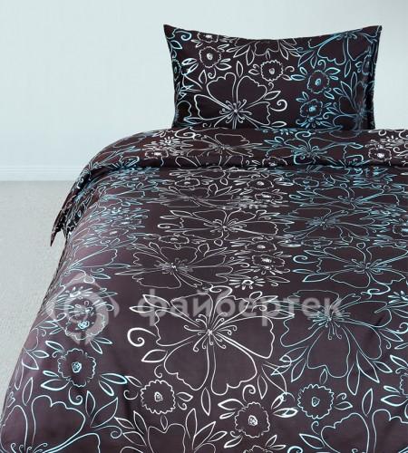 """Комплект постельного белья из сатина """"Brown"""" (20-1446)"""