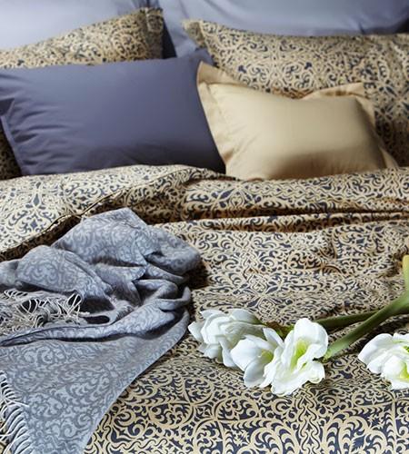 Комплект постельного белья сатин-люкс евро, арт. КПБ.64.С.Л